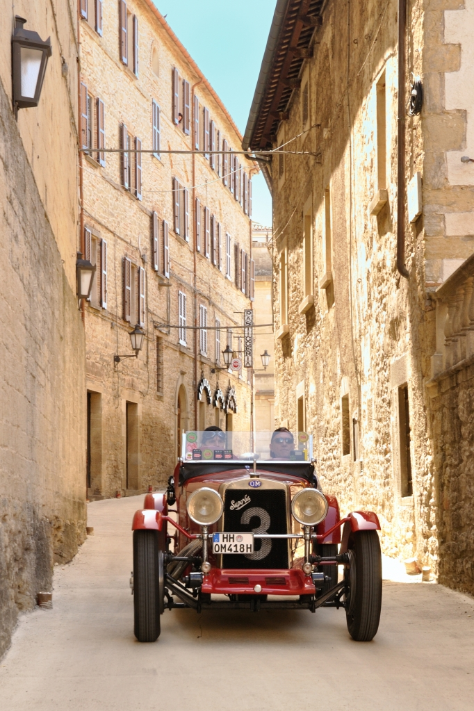 Red 1930 OM 665 SS Superba in San Marino